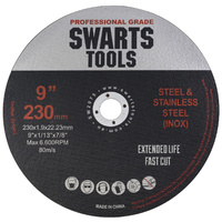 "9"" 230mm Thin Angle Grinder Cutting Discs"